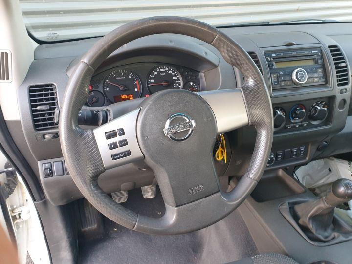 Nissan NAVARA 2 cab 2.5dci 190 4x4 Blanc Occasion - 7