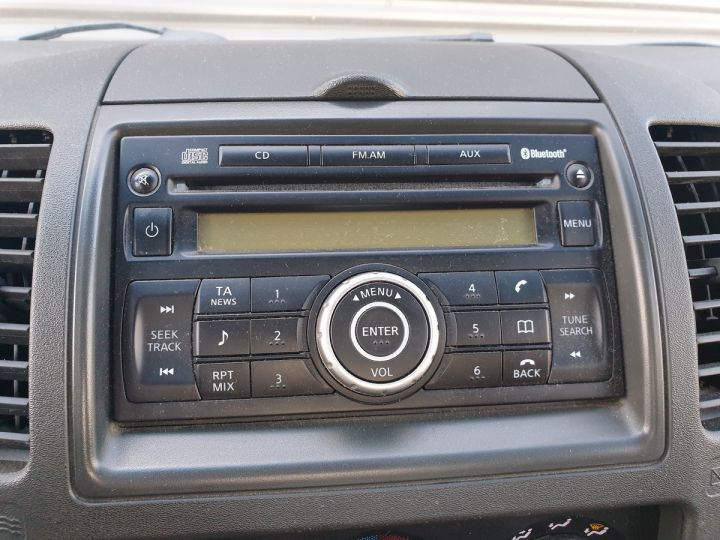 Nissan NAVARA 2 cab 2.5dci 190 4x4 Blanc Occasion - 12