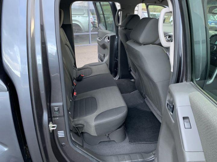 Nissan NAVARA Double cabine 2.5 DCI 190 CV Gris Foncé - 12