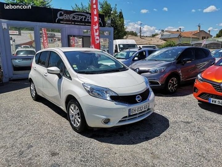 Nissan NOTE CONNECTA BLANC Occasion - 2