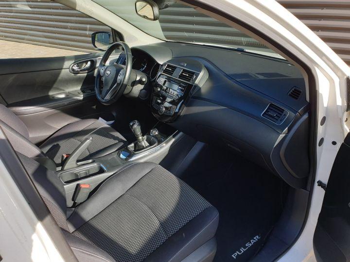 Nissan Pulsar 1.5 dci 110 acenta bv6 Blanc Occasion - 7