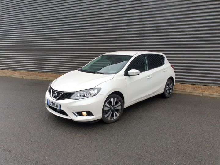Nissan Pulsar 1.5 dci 110 connect edition bv6 iii Blanc Occasion - 1