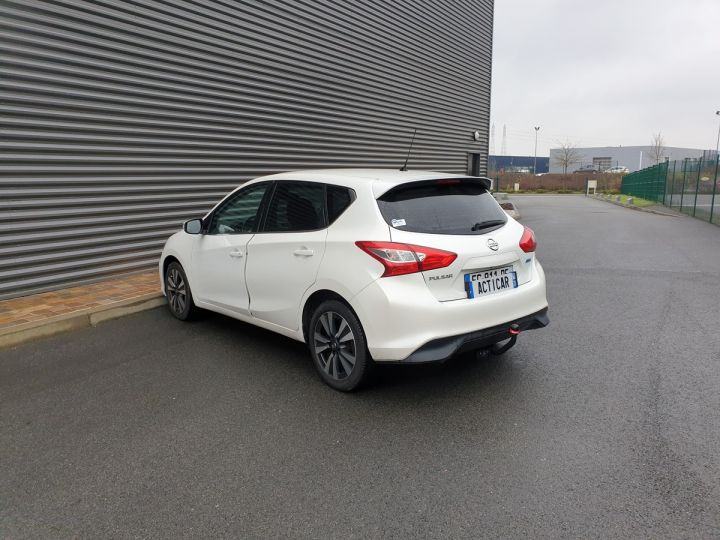 Nissan Pulsar 1.5 dci 110 connect edition bv6 oiii Blanc Occasion - 17