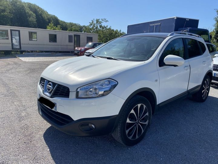 Nissan Qashqai +2 2.0 140CH CONNECT EDITION EURO5 Blanc - 1