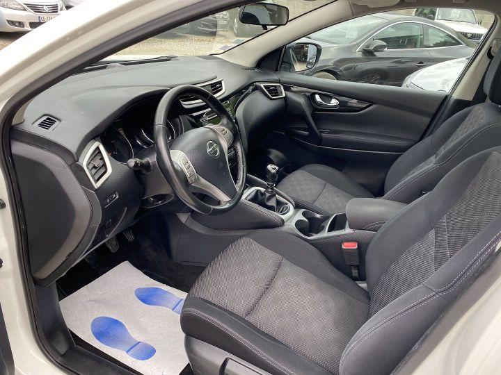 Nissan Qashqai 1.5 DCI 110CH ACENTA Blanc - 8
