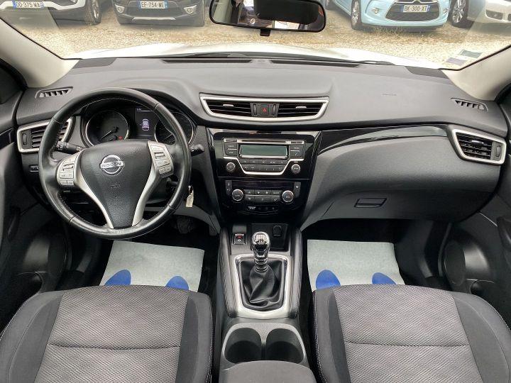 Nissan Qashqai 1.5 DCI 110CH ACENTA Blanc - 9
