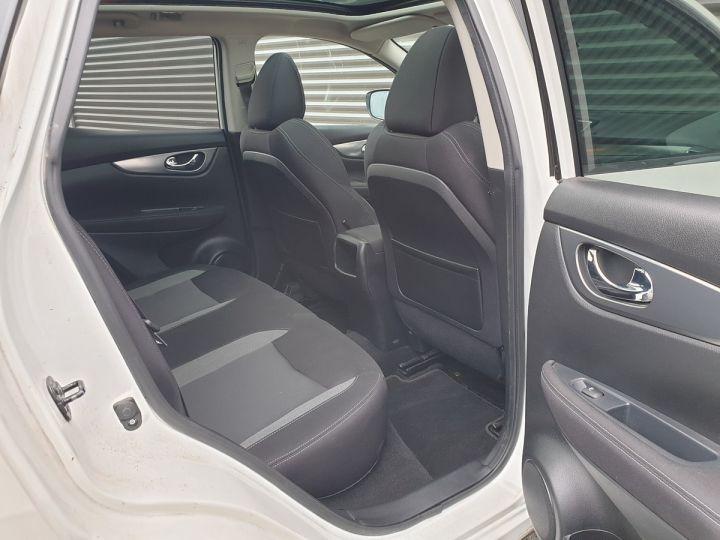Nissan Qashqai ii 2 1.6 t 163 connecta bv6 Blanc Occasion - 9