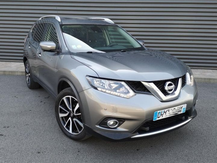 Nissan X-TRAIL 3 1.6 DCI 130 CONNECT EDITION ll Gris Occasion - 16