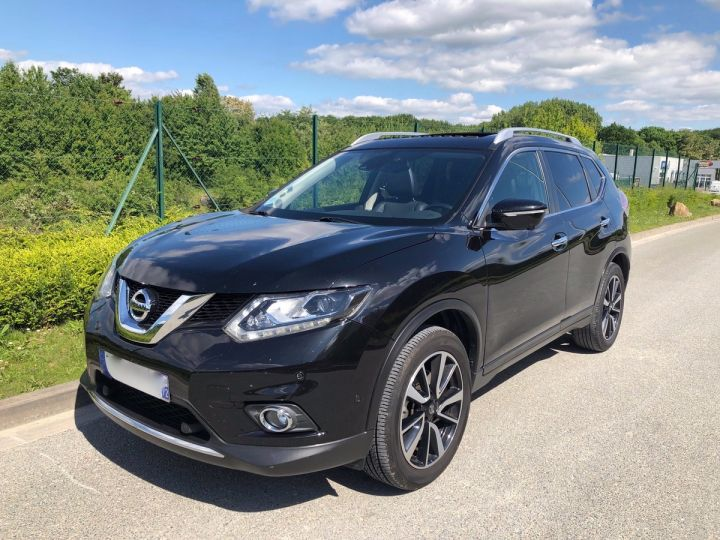 Nissan X-TRAIL 3 III 1.6 DCI 130 TEKNA 7 PLACES oo Noir Occasion - 1