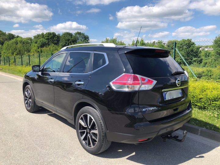 Nissan X-TRAIL 3 III 1.6 DCI 130 TEKNA 7 PLACES oo Noir Occasion - 2