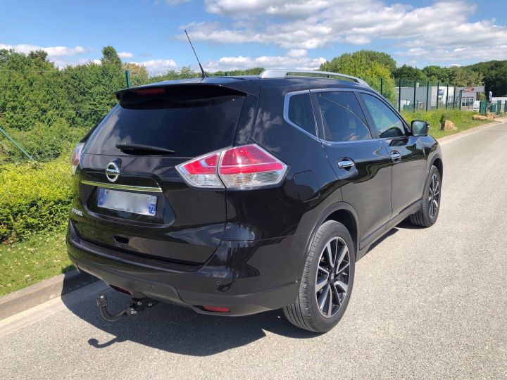 Nissan X-TRAIL 3 III 1.6 DCI 130 TEKNA 7 PLACES oo Noir Occasion - 6