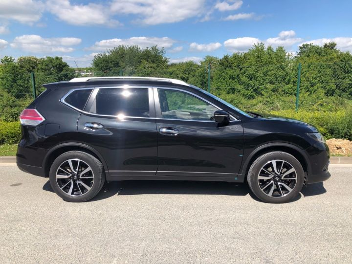 Nissan X-TRAIL 3 III 1.6 DCI 130 TEKNA 7 PLACES oo Noir Occasion - 7