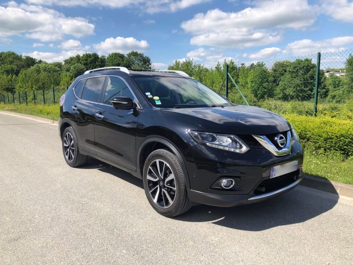 Nissan X-TRAIL 3 III 1.6 DCI 130 TEKNA 7 PLACES oo Noir Occasion - 8