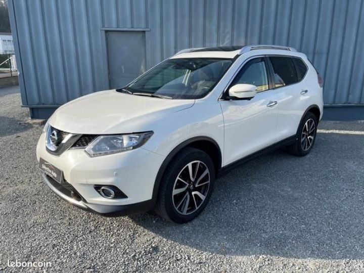 Nissan X-TRAIL dci 130 connect edition Blanc - 1