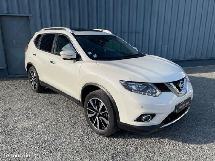Nissan X-TRAIL dci 130 connect edition Blanc - 2