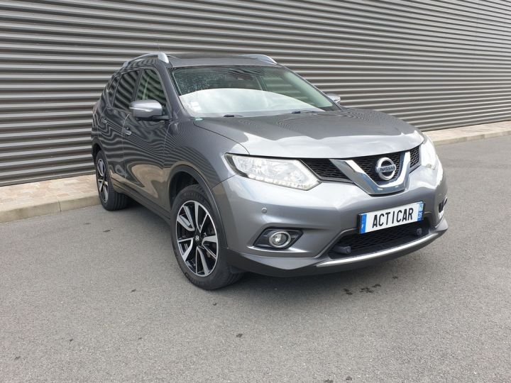 Nissan X-Trail trail 3 1.6 dci 130 connect edition bv6 Gris Occasion - 2