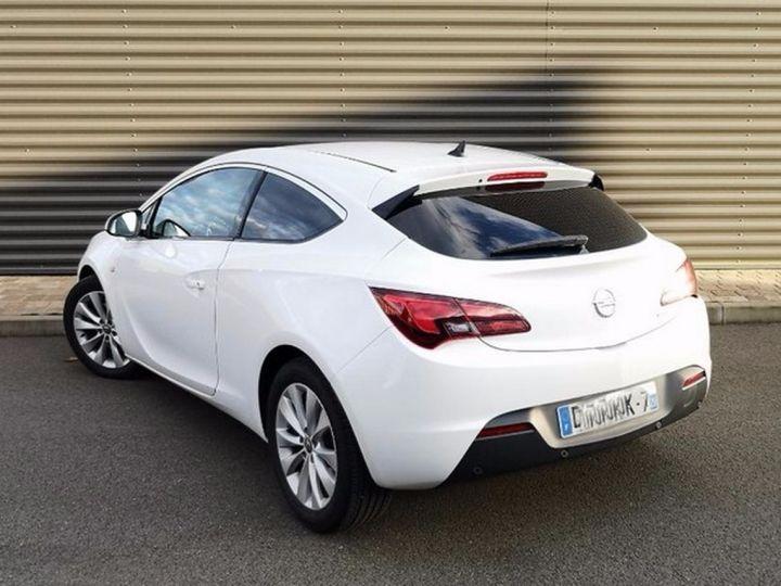 Opel Astra 4 GTC 1.7 CDTI 130 SPORT PACK IIII Blanc Métallisé Occasion - 2