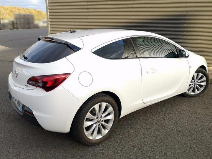 Opel Astra 4 GTC 1.7 CDTI 130 SPORT PACK IIII Blanc Métallisé Occasion - 6