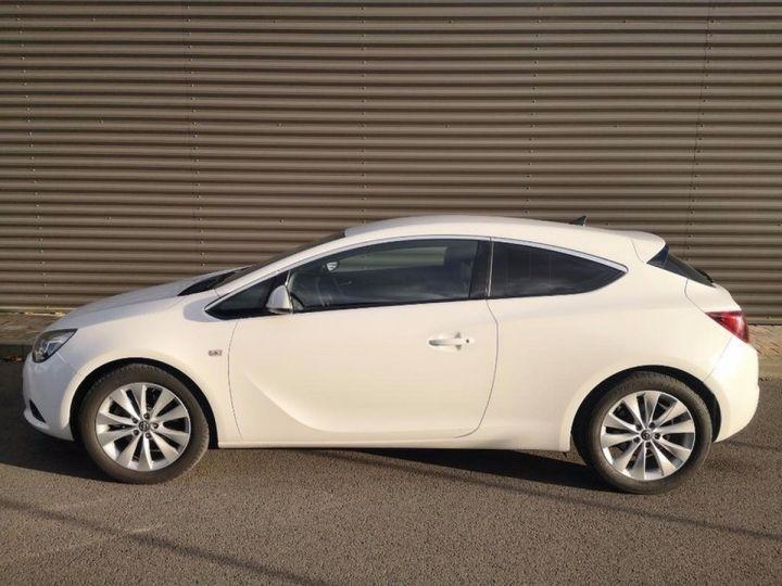 Opel Astra 4 GTC 1.7 CDTI 130 SPORT PACK IIII Blanc Métallisé Occasion - 8