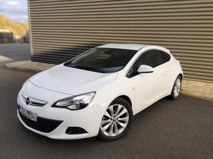 Opel Astra 4 GTC 1.7 CDTI 130 SPORT PACK IIII Blanc Métallisé Occasion - 16