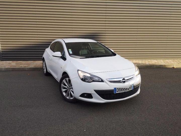 Opel Astra 4 GTC 1.7 CDTI 130 SPORT PACK IIII Blanc Métallisé Occasion - 18