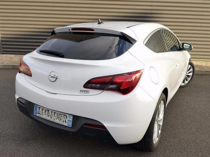 Opel Astra 4 GTC 1.7 CDTI 130 SPORT PACK IIII Blanc Métallisé Occasion - 19