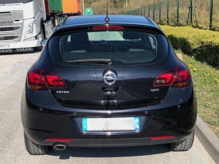 Opel Astra 4 IV 20 CDTI 160 COSMO BVA Noir Occasion - 6