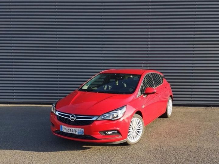 Opel Astra 5 1.0 TURBO 105 ECOFLEX INNOVATION 5P x Rouge Occasion - 9