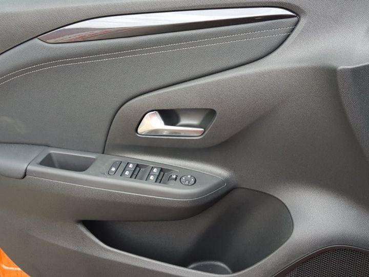 Opel Corsa 1.2 Turbo 100ch Elégance Automatique Orange Fizz Toit Noir - 5