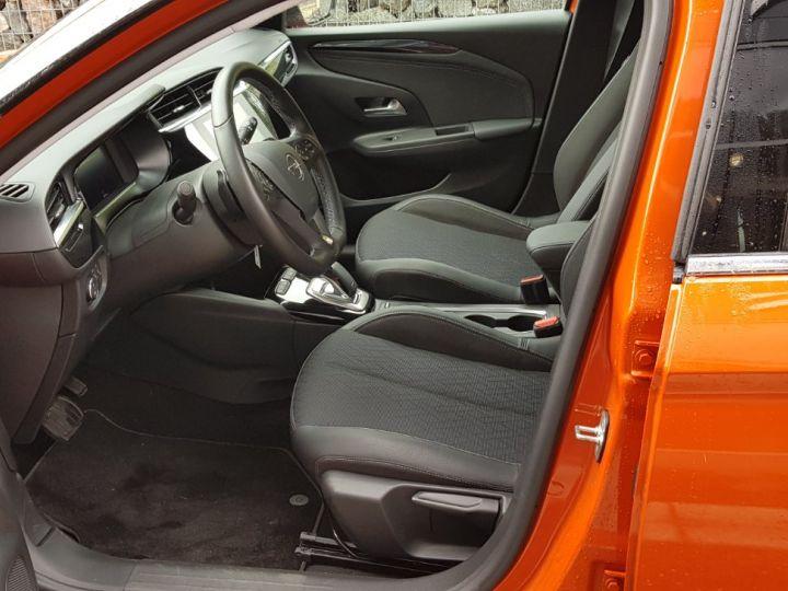 Opel Corsa 1.2 Turbo 100ch Elégance Automatique Orange Fizz Toit Noir - 6
