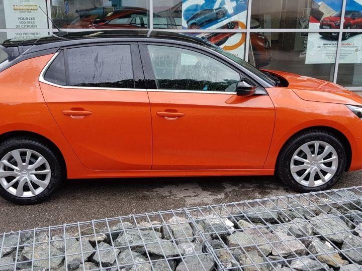 Opel Corsa 1.2 Turbo 100ch Elégance Automatique Orange Fizz Toit Noir - 8