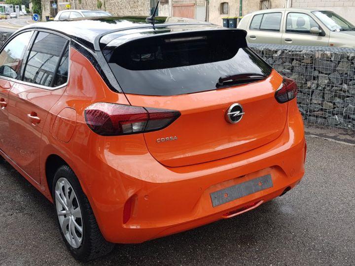 Opel Corsa 1.2 Turbo 100ch Elégance Automatique Orange Fizz Toit Noir - 9