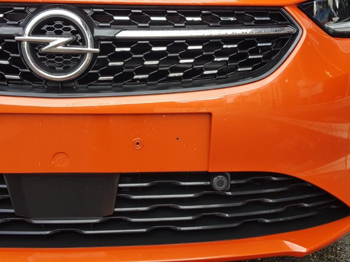 Opel Corsa 1.2 Turbo 100ch Elégance Automatique Orange Fizz Toit Noir - 10