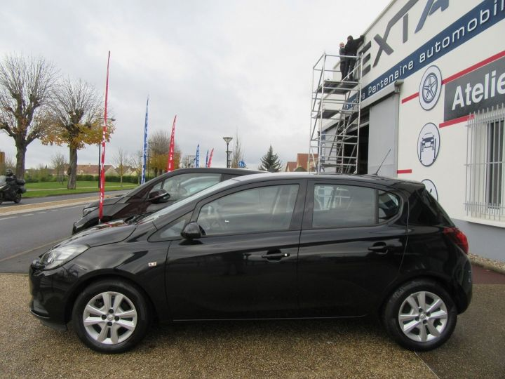 Opel Corsa 1.4 90CH BLACK EDITION 5P Noir - 5