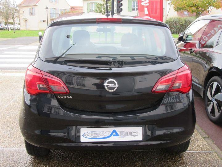 Opel Corsa 1.4 90CH BLACK EDITION 5P Noir - 7
