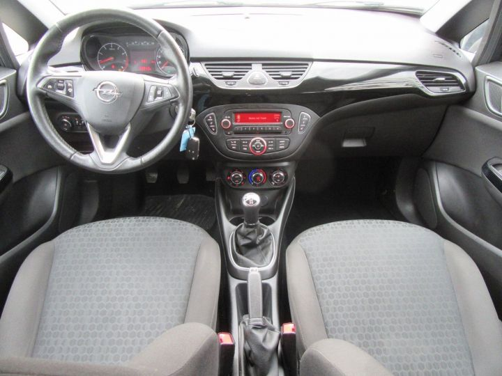 Opel Corsa 1.4 90CH BLACK EDITION 5P Noir - 9