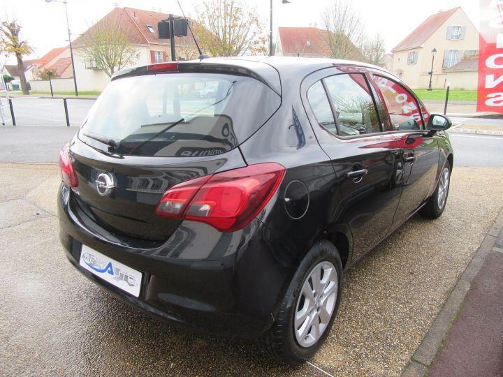 Opel Corsa 1.4 90CH BLACK EDITION 5P Noir - 10