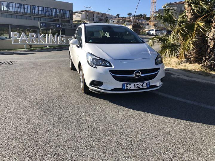Opel Corsa 1.4 90CH PLAY 3P Blanc - 1