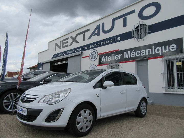 Opel Corsa 1.4 TWINPORT COSMO  5P Blanc Occasion - 1