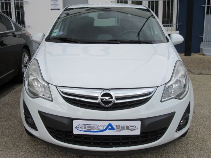Opel Corsa 1.4 TWINPORT COSMO  5P Blanc Occasion - 7