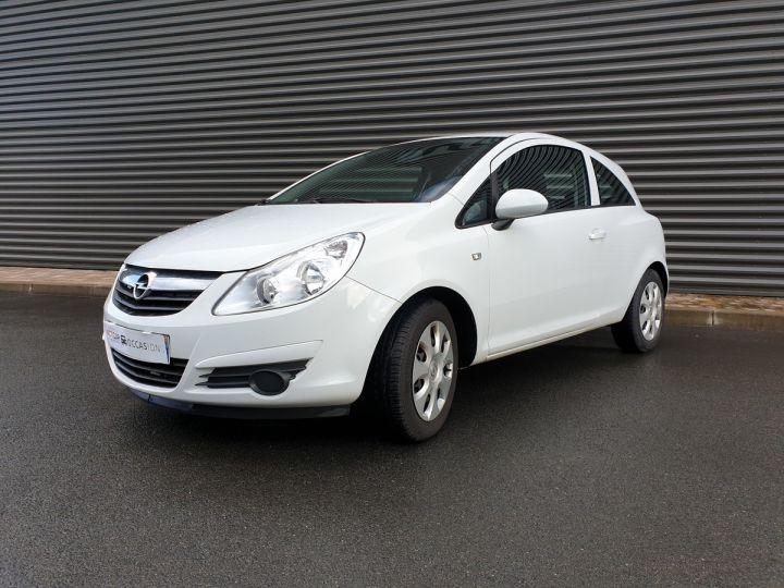 Opel Corsa 4 1.3 CDTI 75 ENJOY Blanc Verni Occasion - 1