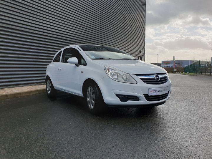 Opel Corsa 4 1.3 CDTI 75 ENJOY Blanc Verni Occasion - 2