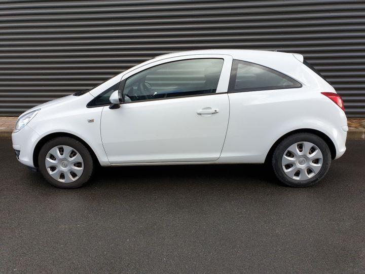 Opel Corsa 4 1.3 CDTI 75 ENJOY Blanc Verni Occasion - 3