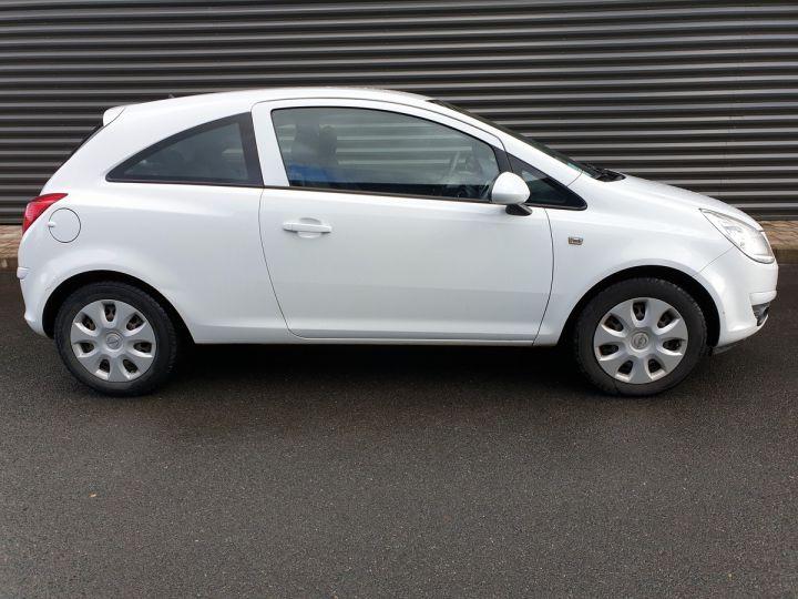 Opel Corsa 4 1.3 CDTI 75 ENJOY Blanc Verni Occasion - 4