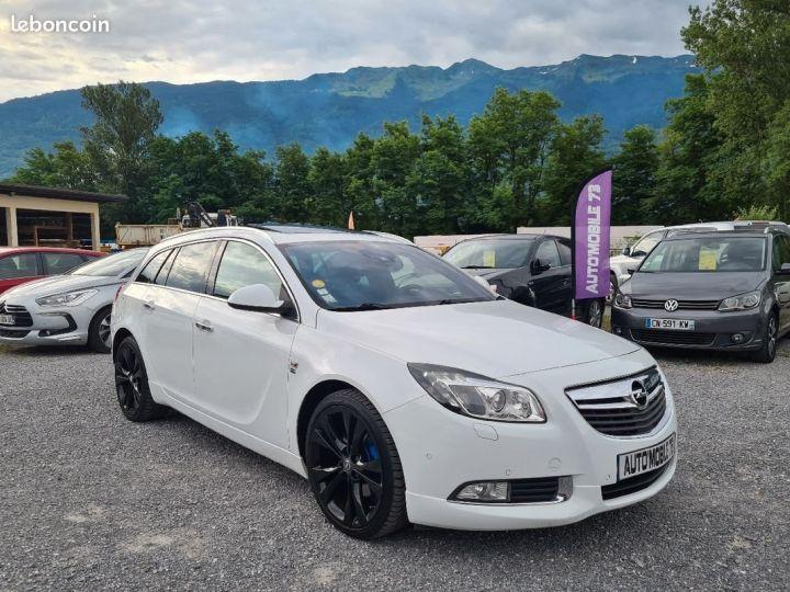 Opel INSIGNIA st 2.0 cdti biturbo 195 4x4 opc line 02/2012 GPS CUIR TOE XENON REGULATEUR  - 3