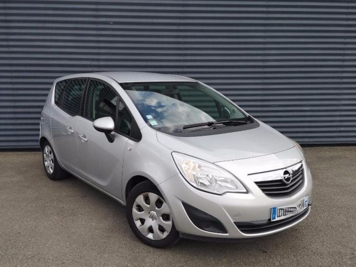 Opel MERIVA 2 1.4 TWINPORT 100 EDITION 42 500 km I Gris Occasion - 4