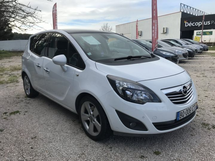 Opel MERIVA COSMO PACK BLANC METAL Occasion - 2