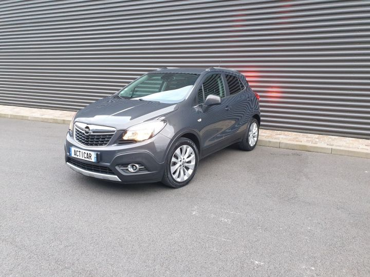 Opel MOKKA 1.7 cdti 130 cosmo pack 4x2 bv6 Gris Occasion - 1