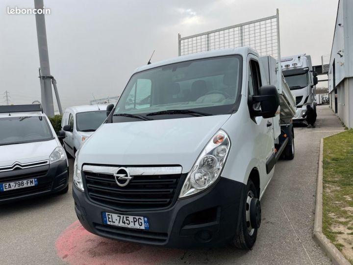 Opel Movano 2.3 dci 135cv benne coffre 2017  - 2