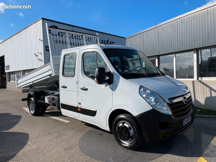 Opel Movano benne double cabine 47.000km  - 1
